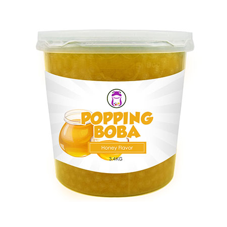 Honey Popping Boba