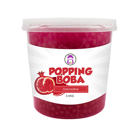 Pomegranate Popping Boba