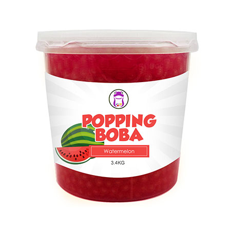 Watermelon Popping Boba